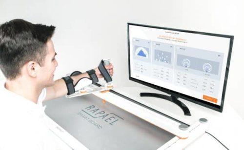 Neofect Smart Board - bei der Rehabilitation der Armfunktion